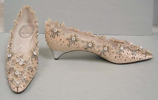 Roger Vivier 1956 - house of Dior - from the Metropolitan Museum collection