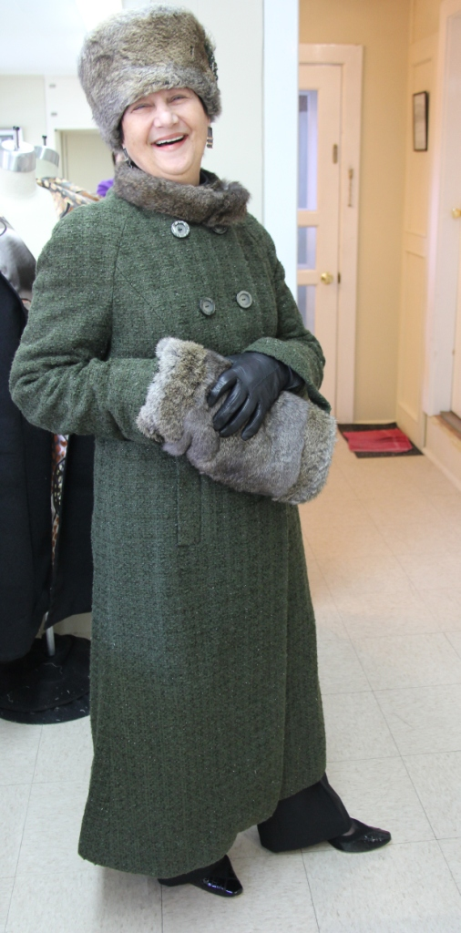 working with fur and traditional tailoring methods
